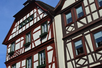 Altstadt Lohr am Main in Unterfranken - Bayern