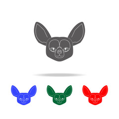 Welsh Corgi face icon. Elements of dogs multi colored icons. Premium quality graphic design icon. Simple icon for websites, web design; mobile app, info graphics