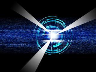 電子基盤 テクノロジー 半導体 電子 未来 電子回路 サイエンス