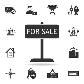 Tablet for sale icon. Detailed set of web icons. Premium quality graphic design. One of the collection icons for websites, web design, mobile app