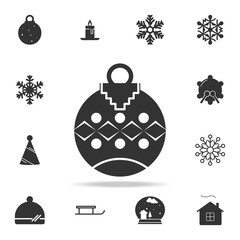 Toy ball for holiday fir-tree Icon. Detailed set of web icons. Premium quality graphic design. One of the collection icons for websites, web design, mobile app
