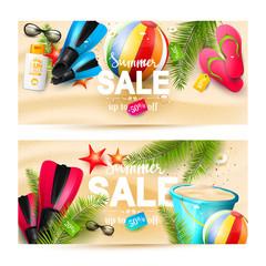 Summer sale headers