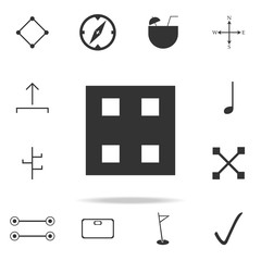 Building block toy icon. Detailed set of web icons. Premium quality graphic design. One of the collection icons for websites, web design, mobile app