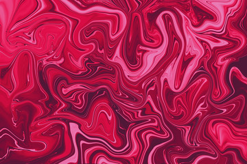 The Swirls of red marble or the ripples of agate for a luxe effect. Very Beautiful art. Natural Luxury. Marbleized effect.