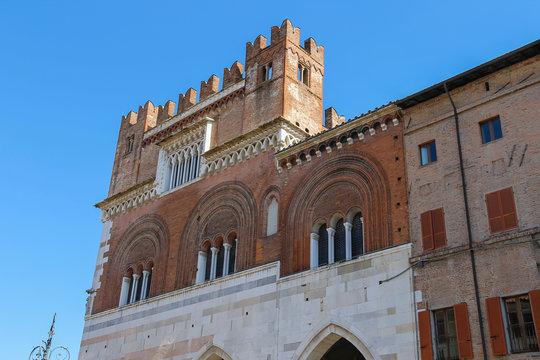Palazzo Comunale at Piazza Cavalli, Piacenza, Italy