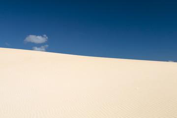 Corralejo Desert in Fuerteventura, Spain