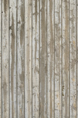 typical concrete wall with stripes