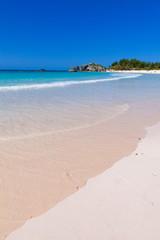 バミューダ島のホースシュー ベイ