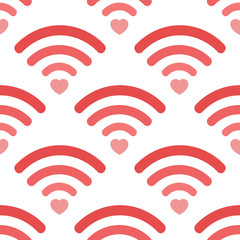 Love wifi pattern