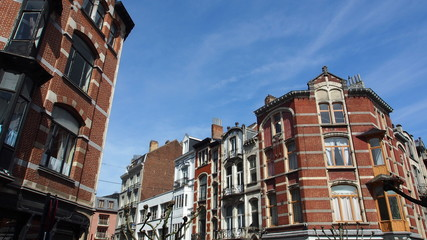 Brüssel: Schöne Altbaufassaden