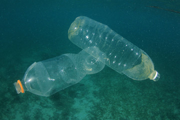 Plastic pollution in ocean environmental problem
