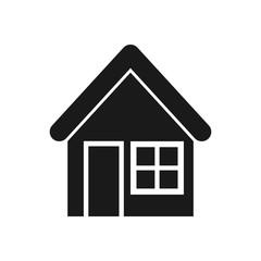home icon vector. modern logo house.