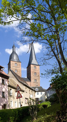 "Altenburg / Germany: The so called ""Red Spires"" of the former collegiate church of the Virgin Mary"