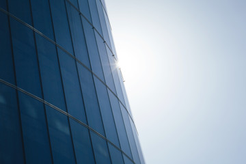 Glass Surface of the Building. Background