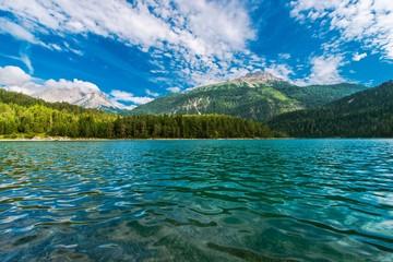 Wall Mural - Austrian Blindsee Lake