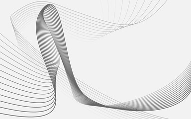 business background lines wave abstract flowing stripe and curves design