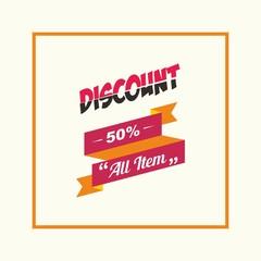 discount logo design for marketing