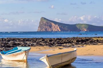 plage de Bain Boeuf et Coin de Mire, île Maurice
