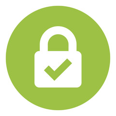 Web Security Lock Icon