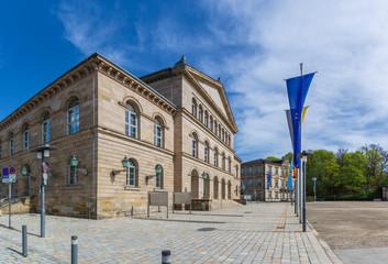 The Theaterplatz of Coburg