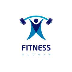 Gym Logo, Fitness Icon