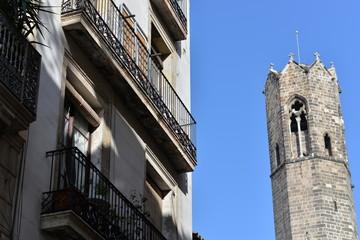 バルセロナ ゴシック地区
