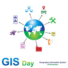 GIS day, Geographic information system, 19 November