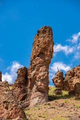 Clarno Rocks