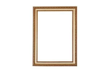 Brown iron carving picture frame