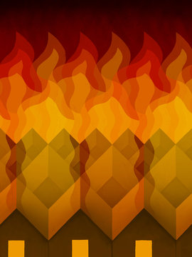 Houses on Fire