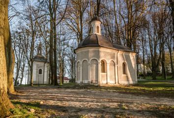 kapliczki na Górze św. Anny