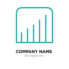 Coverage level company logo design template