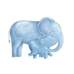 Elephant clip art digital animal of africa