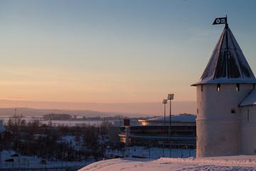 Крепость на закате,Казань