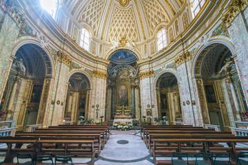 Church of Santissima Trinità degli Spagnoli in Rome, Italy.