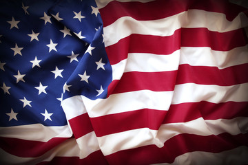 USA flag detail