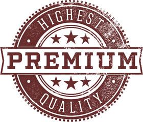 High Quality Premium Product Label Stamp