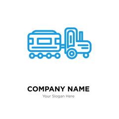 Kid company logo design template
