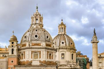 Santa Maria di Loreto Church, Rome, Italy