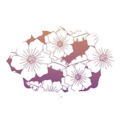 colorful decorative arabic frame with floral design, vector illustration