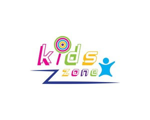 kids play logo vector