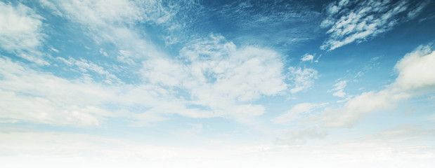 Poster Ciel Sky and clouds tropical panorama