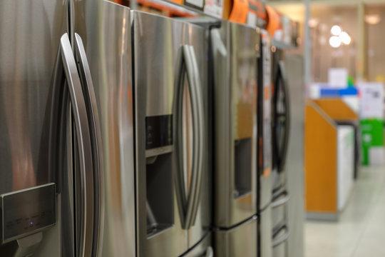 Smart fridge stainless steel refrigerator