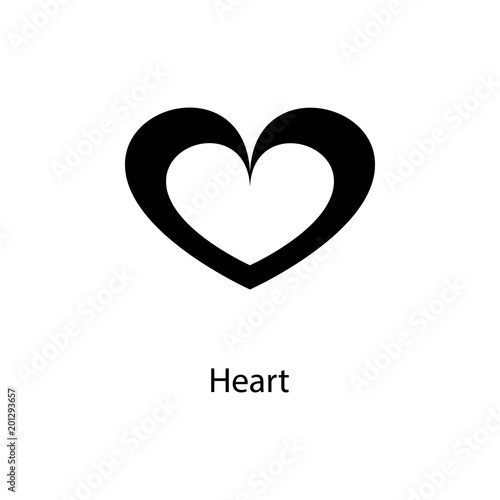 Heart Icon Element Of Minimalistic Icon For Mobile Concept And Web