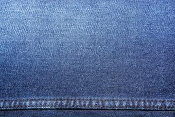 Texture denim background .  Stitching on fabric