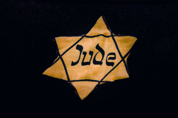 Jews throughout Nazi-occupied Europe were forced to wear badges to identify themselves.