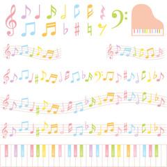 音楽 広告 装飾