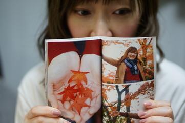 写真集と女性