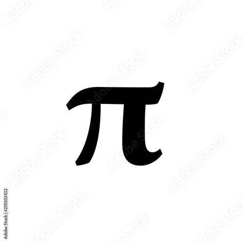 Math Symbols Vector And Math Icons Pi Symbol Stock Image And