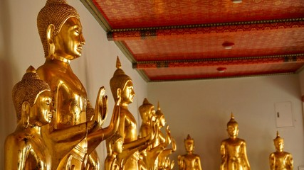 Buddha image in Wat Pho Complex